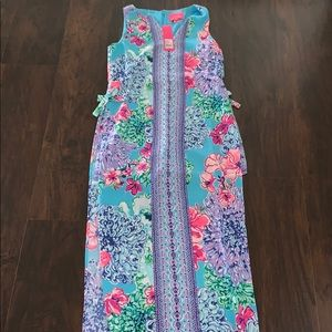 NWT Lilly Pulitzer Special Delivery Donna Maxi 2